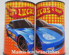 Cofrinho Hot Wheels sem celofane