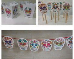 Kit Festa Caveira Mexicana