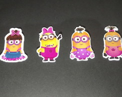 100 Toppers Minions rosa
