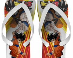 Chinelo Dragon Ball Infantil, Goku