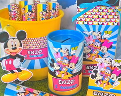 Kit Personalizados Turma do Mickey