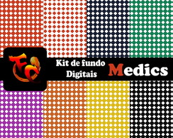 Kit Fundos digitais - Medics