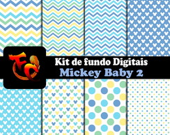 Kit Fundos digitais - Mickey Baby 2