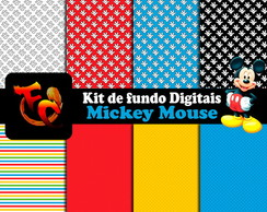 Kit de fundos Digitais - Mickey Mouse