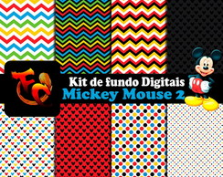 Kit de fundos Digitais - Mickey Mouse 2