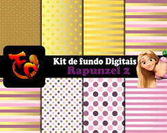 Kit Fundos digitais - Rapunzel 2