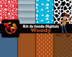 Kit Fundos digitais -Wood