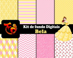 Kit Fundos digitais - Bela