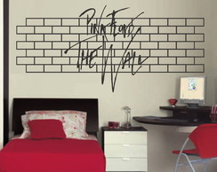 Adesivo musical pink floyd the wall