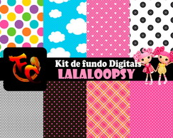 Kit Fundos digitais - Lalaloopsy