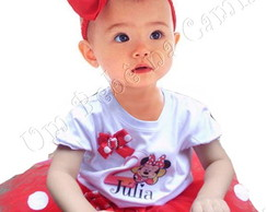 Fantasia Minnie 1 ano