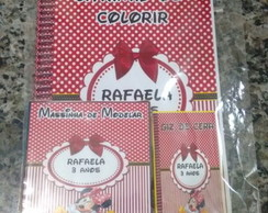 Kit colorir giz e massinha