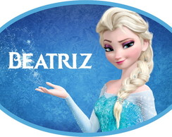 Placa de PVC Frozen