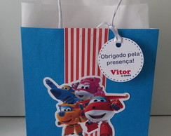 Bolsinha Personalizada Super Wings