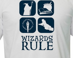 Camiseta Harry Potter wizard rules