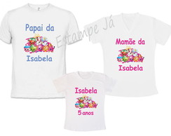 Kit 3 Camisetas Personalizadas Shopkins