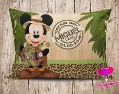 MINI ALMOFADA MICKEY SAFARI 2