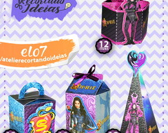 Kit Festa Infantil Descendentes Disney