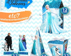 Kit Festa Infantil Frozen