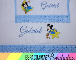 Kit de fraldas bordadas BabyDisney