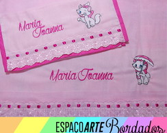 Kit de fraldas bordadas Marie