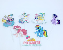 Toppers Recorte Especial My Little Pony