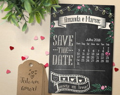 Save the Date Magnético