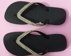 Chinelo Havaianas top customizado