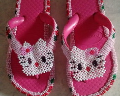 Chinela hello Kitty infantil