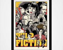 Poster Com Moldura - Pulp Fiction 2