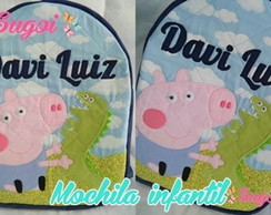 Mochila Media George (Peppa Pig)
