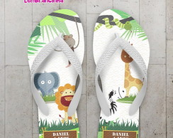Chinelo Infantil Safari