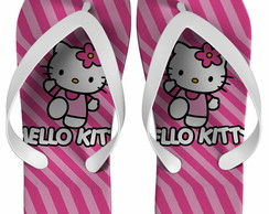 Chinelo Hello Kitty Personalizado