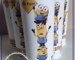 Copos long drink Minions