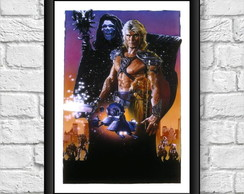 Poster Moldura - Masters Of The Universe