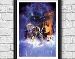 Poster Moldura - Star Wars Episodio 5