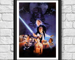 Poster Moldura - Star Wars Episodio 6