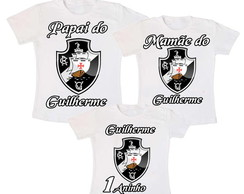 Kit 3 Camiseta Vasco Aniversario