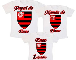 Kit 3 Camiseta do Flamengo Aniversario