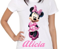 Camiseta Feminina Minnie