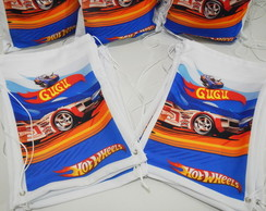 Mochila Personalizada Hot Wheels