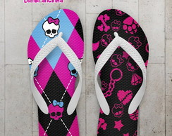 Chinelo Infantil Monster High