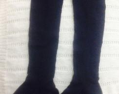99c7fb12545ed Meia Longa tricot ideal para botas no Elo7