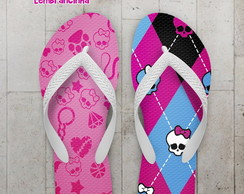 Chinelo Monster High Infantil