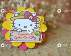Aplique Hello Kitty Lembrancinha Tag
