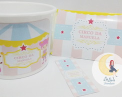 Kit Cinema Circo Rosa