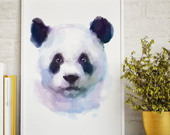 Poster Animal Aquarela