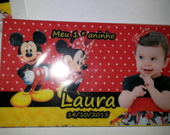 Imã infantil Mickey e Minnie