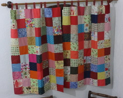 Cortina de patchwork