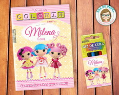 Kit de Colorir Pocket